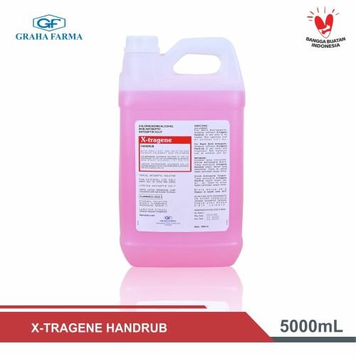Foto Produk X-tragene Handrub 5 L - hand sanitizer - disinfectant - antivirus dari Graha Farma Official