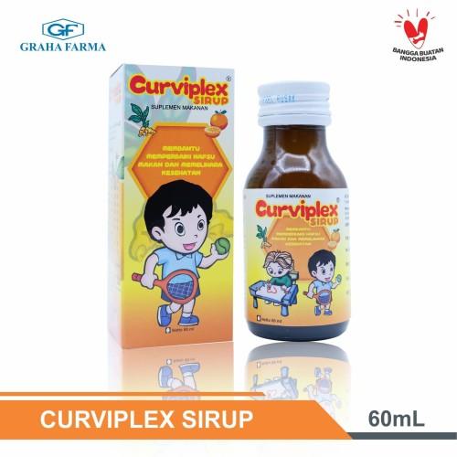 Foto Produk CURVIPLEX 60 ml - Suplemen penambah nafsu makan dari Graha Farma Official