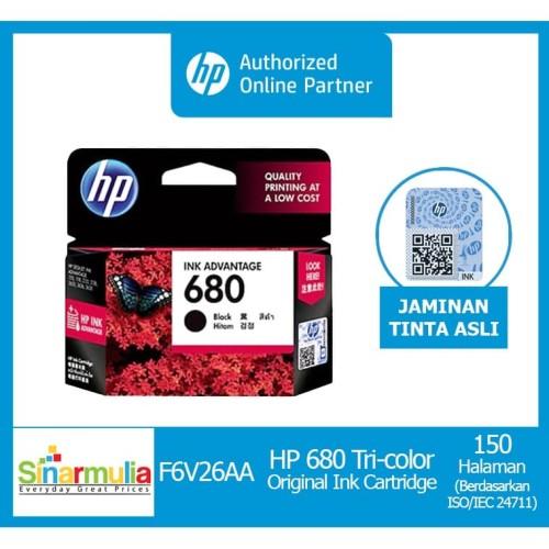Foto Produk Tinta HP 680 Black Original dari Sinarmulia Sukses Makmur