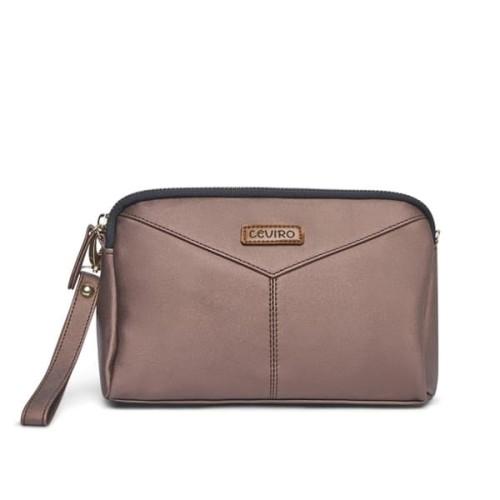 Foto Produk Ceviro Okhasi Sling Bag Tas Selempang Wanita Brown dari Ceviro Bags Indonesia