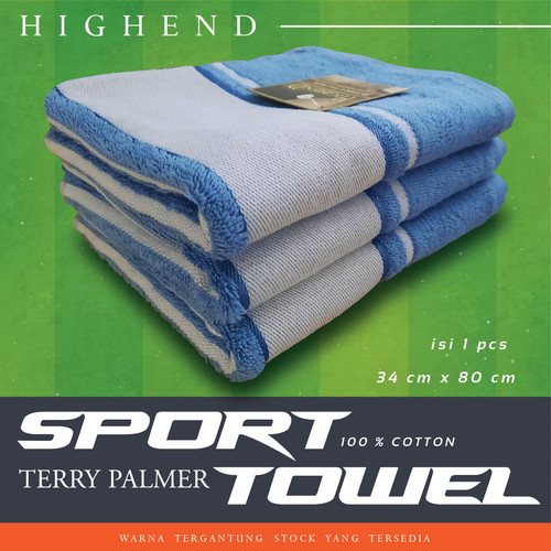 Foto Produk Handuk Olahraga Towel Travel Size 100% Katun Original - 1PC 34X80 SPORT dari TDC Variasi