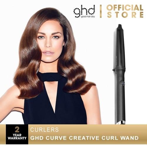 Foto Produk GHD Curve Wand - Creative Curl Maker Catokan Rambut [C1-TAPEWANDEU] dari GHD Official Store