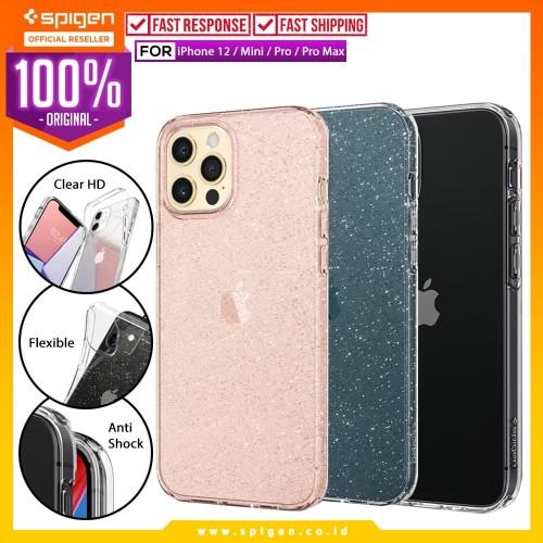 Foto Produk Case iPhone 12 Pro Max / Pro / Mini Spigen Liquid Crystal Clear Casing - 12 Mini, Crystal Clear dari Spigen Official