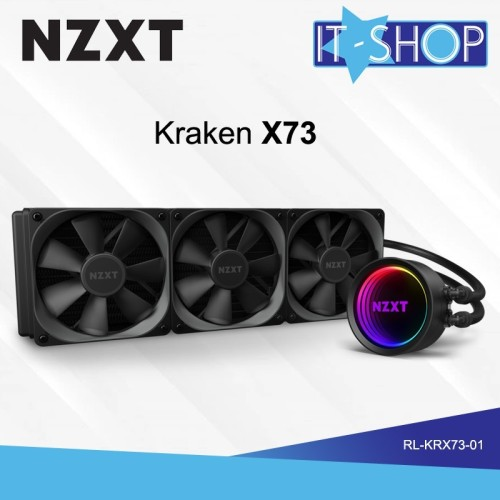 Foto Produk NZXT Fan Cooling Processor Liquid Kraken X73 dari IT-SHOP-ONLINE