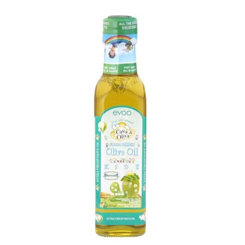 Foto Produk Casa di Oliva - Extra Virgin Olive Oil for Kids (EVOO) 250ml dari Chubby Baby Shop