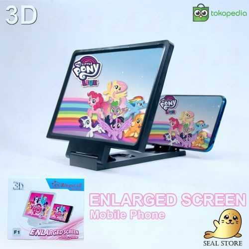 Foto Produk MAGNIFIER 3D F1 Kaca Pembesar Layar HP Enlarged Screen Mobile Phone 3D dari SEAL STORE 20