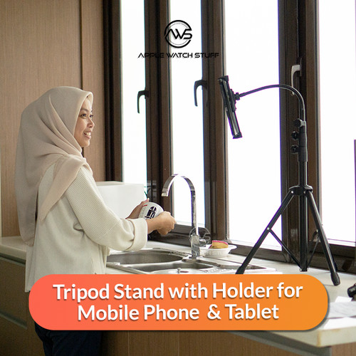 Foto Produk Tripod Stand Multi Function Stand Holder for Mobile Phone Tablet dari applewatchstuff