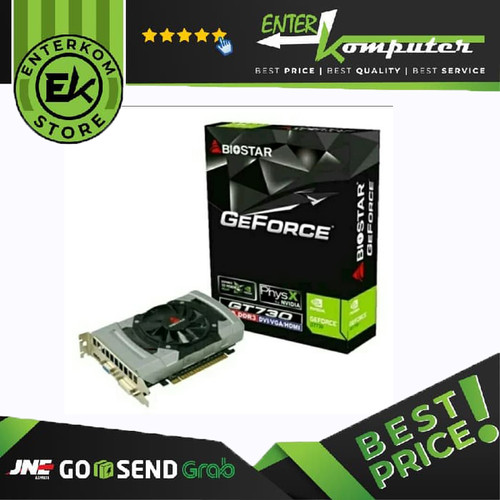 Foto Produk Biostar GeForce GT 730 4GB DDR3 64 Bit dari Enter Komputer Official