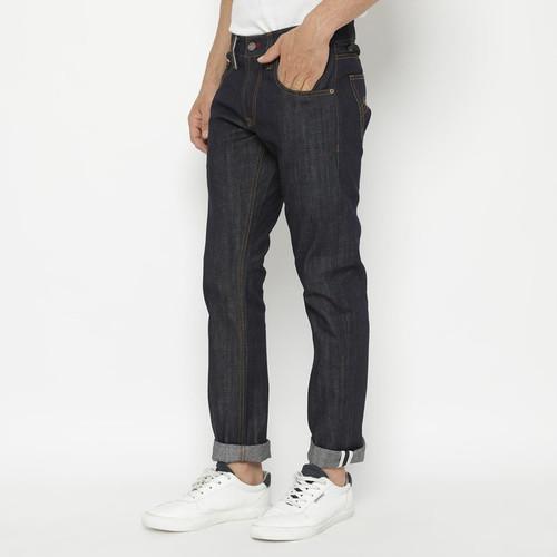 Foto Produk Papperdine 901 Raw Slim Celana Panjang Jeans Pria Sanforized Selvedge - 38 dari Papperdine Jeans