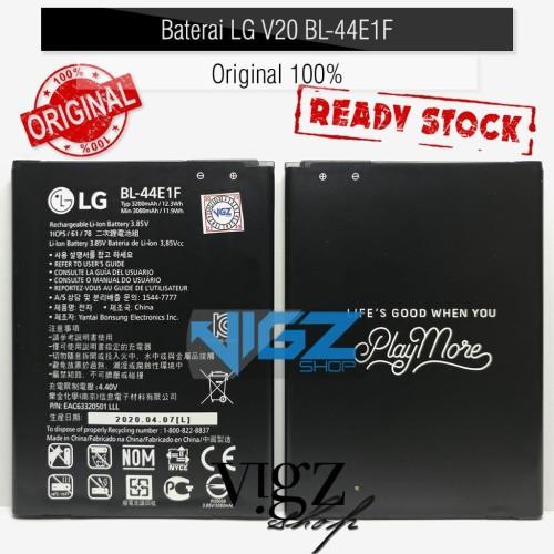 Foto Produk Baterai LG V20 H990 BL-44E1F Original 100% dari Vigzshop-Online