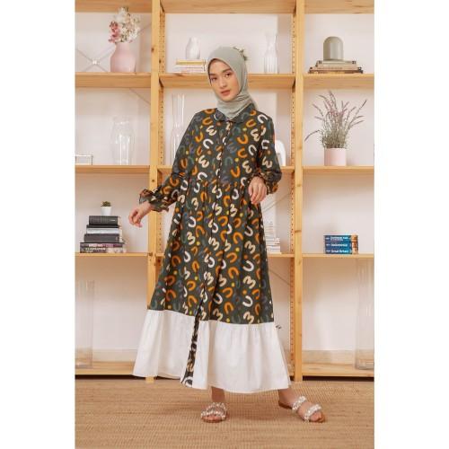 Foto Produk Caily Green Pattern - S dari HijabChic Official