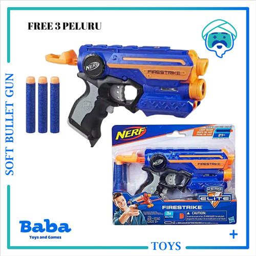 Foto Produk NERF GUN N-STRIKE ELITE FIRESTRIKE LIGHT BEAM ORI NEW dari Baba Toys and Games