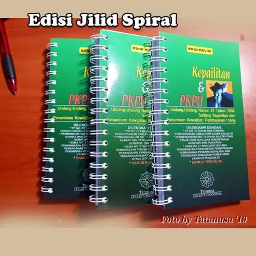 Foto Produk KEPAILITAN Dan PKPU Plus Kamus Penunjuk Edisi Revisi - Jilid Ring dari Tatanusa