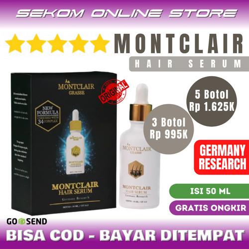 Foto Produk MONTCLAIR Hair Serum - Obat Penumbuh Rambut - MONTCLAIR dari SEKOM ONLINE STORE