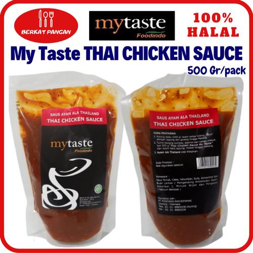 Foto Produk My Taste Spicy BBQ 2/ Asam Manis / Chili Sauce / Thai Chicken Sauce - Thai Chicken dari BerkatPangan