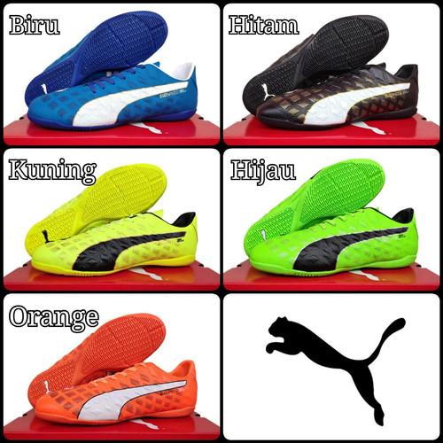 Foto Produk Sepatu Futsal Puma Evospeed Grade Ori - Biru, 40 dari Raffa-Sport