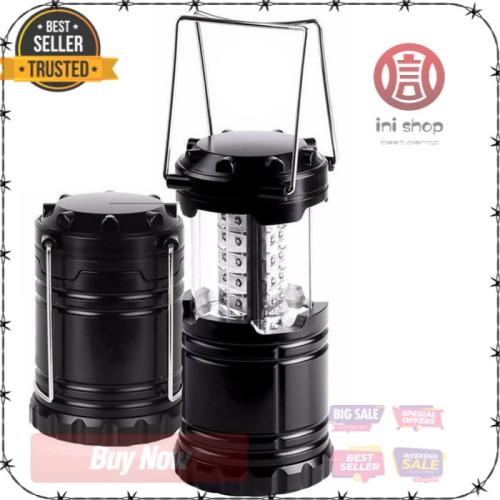 Foto Produk Lentera Camping Lantern 30 LED Water Resistant Hitam KUALITAS TERBAIK dari ini-shop