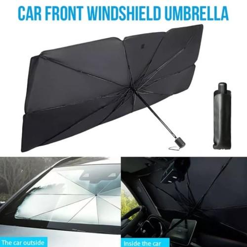 Foto Produk Payung Lipat Sun Shield Pelindung Sinar UV Matahari Kaca Depan Mobil dari Gentleman Car