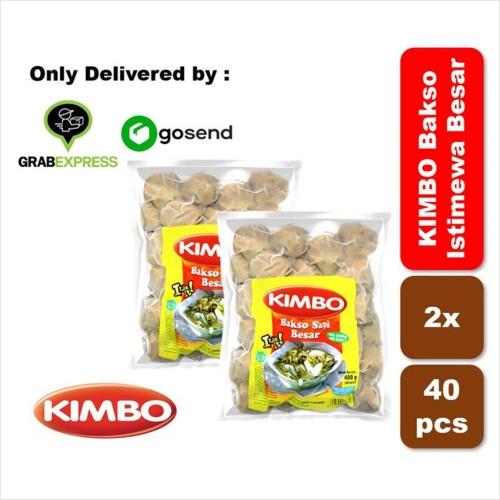 Foto Produk KIMBO Bakso Istimewa Besar40 Twin Pack dari KIMBO