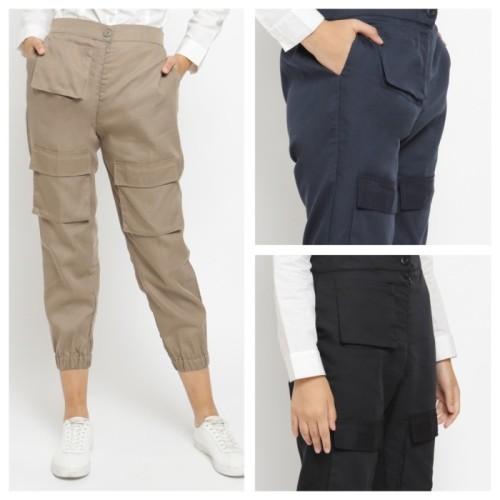 Foto Produk KAYSER yelda celana jogger muslim wanita - Biru dari kayser official