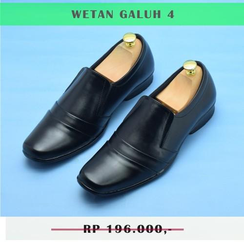 Foto Produk Wetan Sepatu Pantofel Pria Ringan Nyaman Galuh 4 Warna Hitam Original - 37 dari WETAN Store