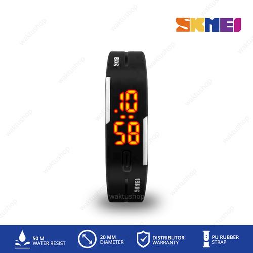 Foto Produk Jam Tangan Pria & Wanita Digital LED Sport Watch SKMEI 1099 Original - Hitam dari Waktu.Shop