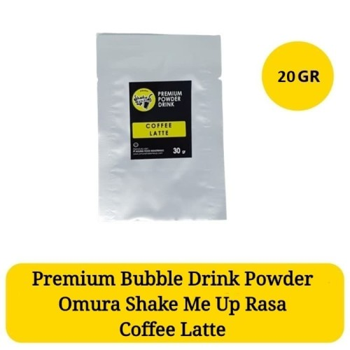 Foto Produk Sachet Omura Shake Me Up Coffee Latte / Kopi Premium Bubble Drink dari Omura Shop