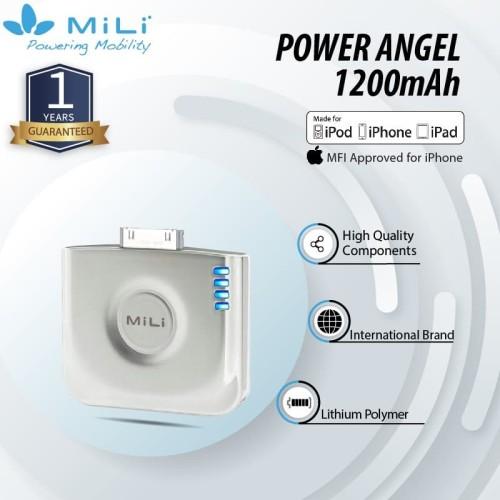 Foto Produk Mili Power Angel Power Bank 1200mAh For Iphone 4/4s dari Mili Official Store