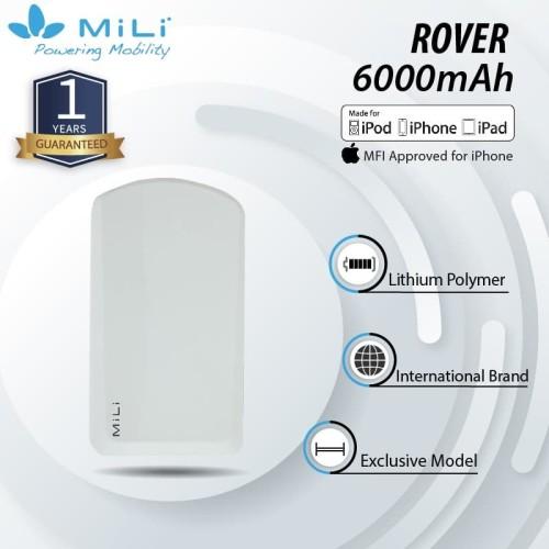 Foto Produk MILI Rover Power Bank 6000mAh Real Capacity garansi 1 tahun dari Mili Official Store