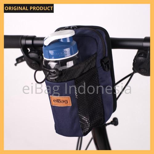 Foto Produk Tas Sepeda Lipat Seli Handlebar Stang Sadel Selempang EIBAG 1557 - Biru dari eibag-indonesia