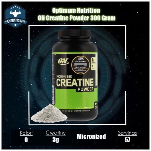 Foto Produk Optimum Nutrition ON Creatine Powder 300 Gram dari GenerationFitSupplement