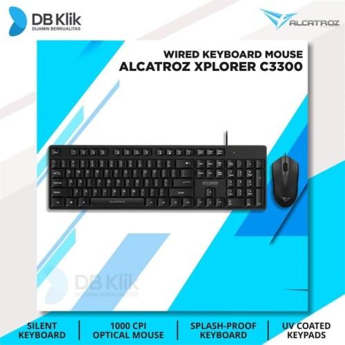 Foto Produk Keyboard Mouse Combo Alcatroz Xplorer C3300 - Alcatroz Xplorer C 3300 dari DBklik Semarang