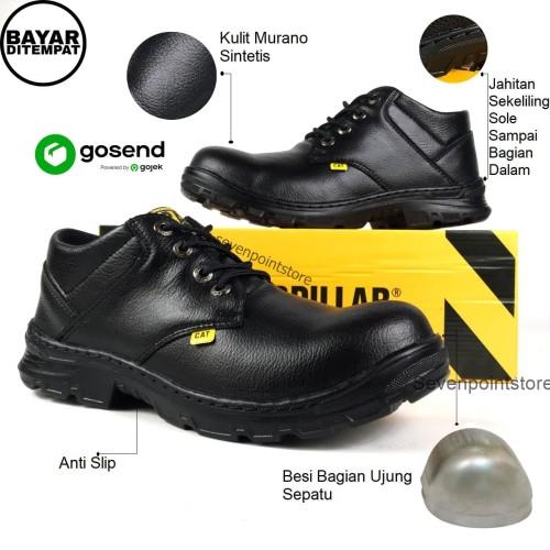 Foto Produk Sepatu Proyek-Sepatu Safety-Sepatu King-Sepatu Kerja Termurah - 39-43 - Hitam, 39 dari SEVEN POINT STORE