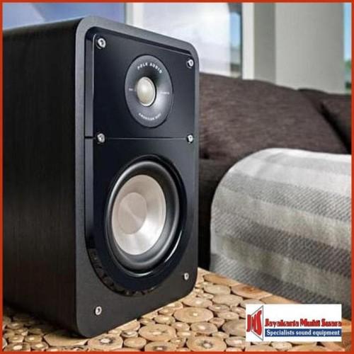Foto Produk Polk Audio S15 Bookshelf Speaker / audiocentre / black / POLK AUDIO dari Jayakarta Multi Suara