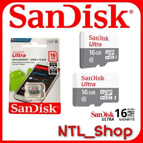 Foto Produk SANDISK MICRO SD 16GB CLAS 10 dari Ntl_shop