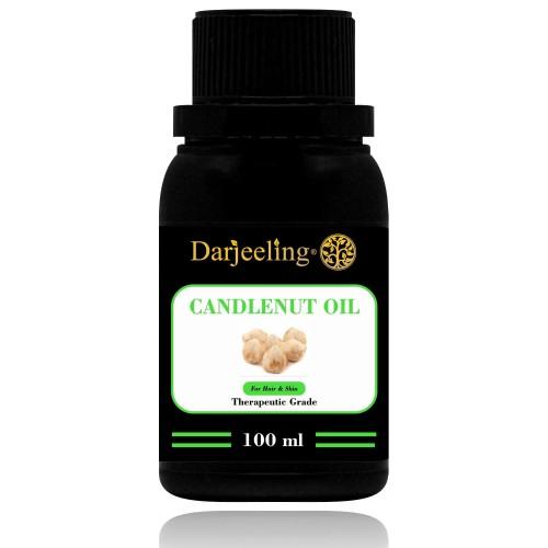 Foto Produk 100ml Minyak Kemiri   Candlenut Oil 100% Murni Carrier Oil dari Darjeeling Store