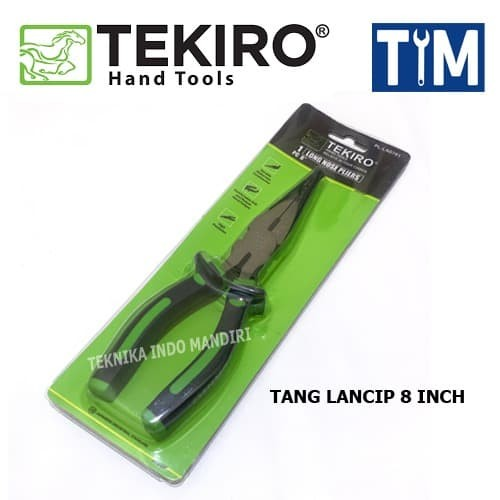 Foto Produk (TEKIRO) Tang Lancip ukuran 8 inch dari Teknika Indo Mandiri