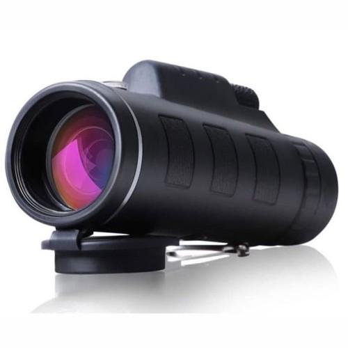 Foto Produk Teropong Monocular Outdoor Magnification 40 x 60 Waterproof-Black dari rubic wear