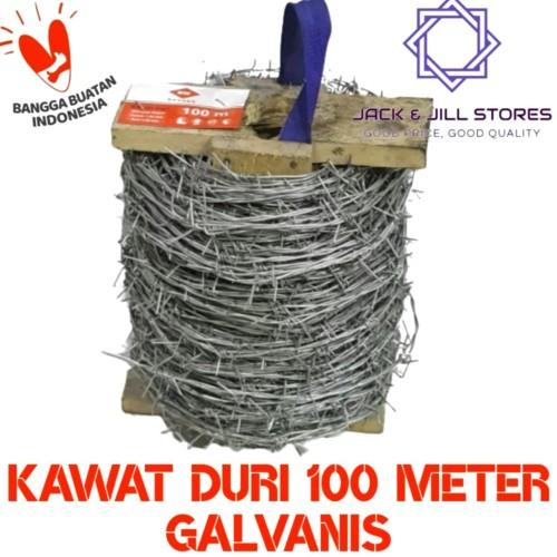 Foto Produk Kawat Duri 100 Meter dari Jack & Jill Stores