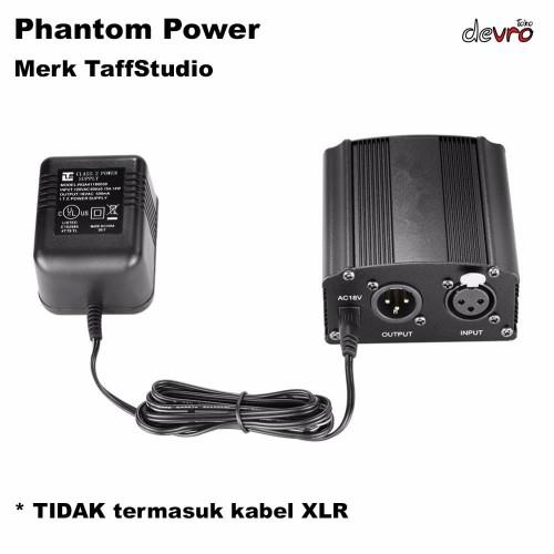 Foto Produk Phantom Power Microphone 1 Channel 48V Supply for Condenser Microphone dari Devro