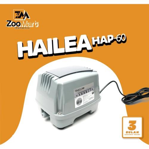 Foto Produk Hailea Air Pump HI-BLOW HAP-60 / Airator Kolam / Airator Aquarium dari ZooMart