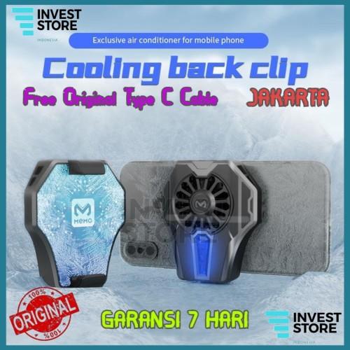 Foto Produk Original Memo DL-01 Fancooler Radiator Pendingin HP Cooler DL 01 dari MEMO INDONESIA OFFICIAL