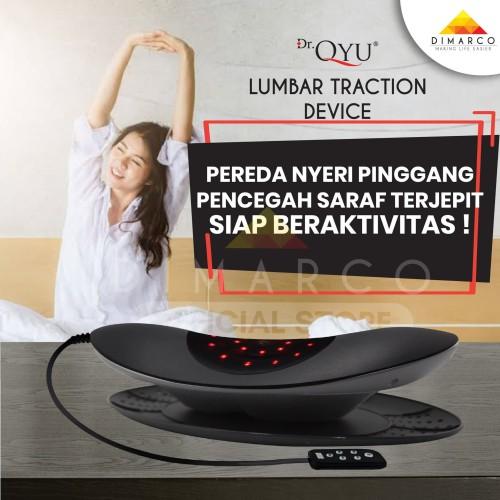 Foto Produk Dr.Qyu Lumbar Traction alat fisioterapi 4in1 saraf kejepit portable dari Dimarco Official Store
