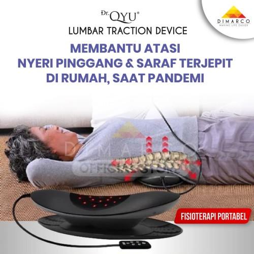 Foto Produk Dr. QYU Lumbar traction fisioterapi portable di rumah mudah praktis dari Dimarco Official Store