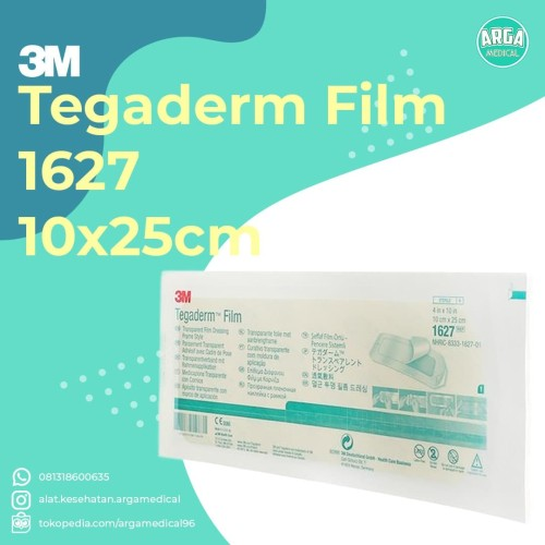 Foto Produk Tegaderm Film 1627 3M 10x25cm / Plester Anti Air Tegaderm 1627 3M dari ARGA_MEDICAL