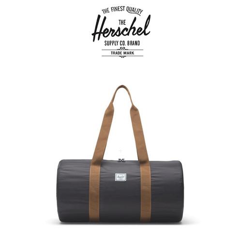 Foto Produk Herschel Packable Duffel - Black Saddle Brown dari NS Market Official Store