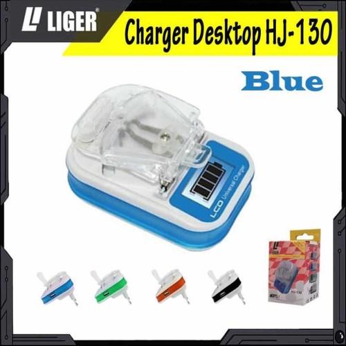 Foto Produk LIGER-130/LCD USB Charger Charger Desktop/Charger Kodok/Universal - BIRU dari LIGER OFFICIAL STORE