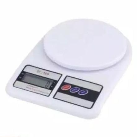 Foto Produk [399gr] E24 Timbangan Dapur Digital 10kg sf400 free batre dari Raja Market Indonesia
