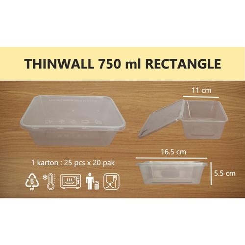 Foto Produk Thinwall 750 ml dari Sinar Berkat Packaging
