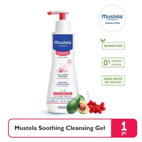 Foto Produk Mustela Soothing Cleansing Gel 300 ml dari Mustela Indonesia